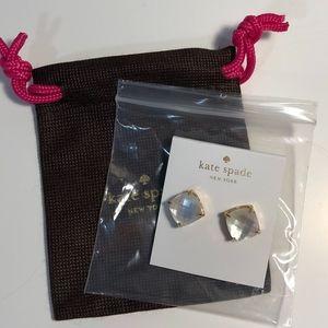 Kate Spade Cream Stud Earrings